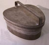 French tin pansy baking mold