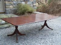 American centennial walnut dining table with leaves c1885