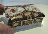 Occupied Japan covered porcelain box