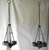 Addison Meisner School archaic form hanging light fixtures