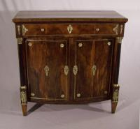 French Empire commode with gilt bronze mounts c1810