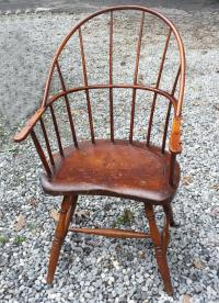 American country New England Windsor arm chair c1790