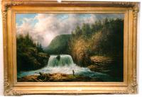 Antique painting American William C.Frerichs