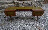 English Regency style leather top coffee table c1910