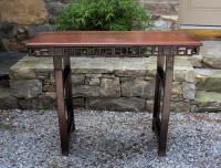 19th century Chinese rosewood Altar table c1820