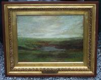The Pool No Mans Land M T Meagher oil painting 1912