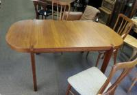 H Sigh and Sons Mobelfabrik Danish Modern teak dining table c1950