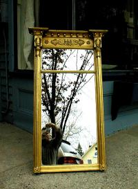 Period Antique American Federal mirror