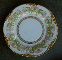 Antique French porcelain limoges plates