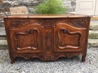 18th century French provincial walnut buffett