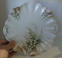 Antique RS Prussia porcelain cake plate