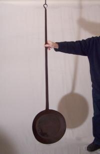 18th century New England long handled skillet