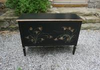 Vintage Louis XVI style hand painted dresser 20thc