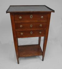 Country French cherry night stand c1780