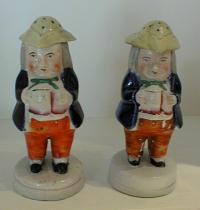 Antique English porcelain Staffordshire Toby