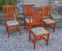 Cherry dining chairs by William Laberge Cabinetmaker