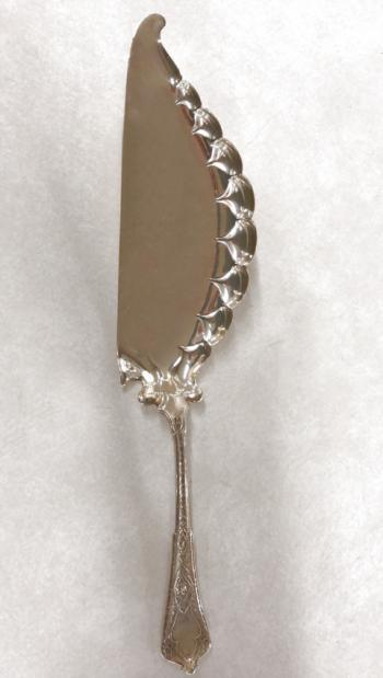 Image of Antique Tiffany Co sterling silver fish server