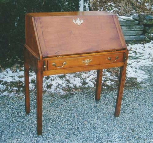 Period American Chippendale drop front desk