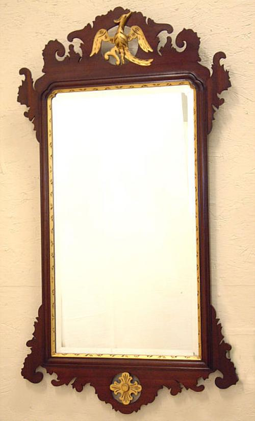 Wallace Nutting Chippendale wall mirror