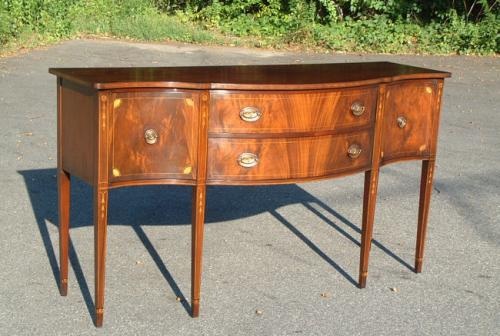 Charak Furniture Federal Inlaid sideboard server