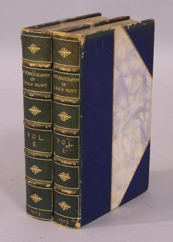 Image of Autobiography of Leigh Hunt 2 volumes 1903